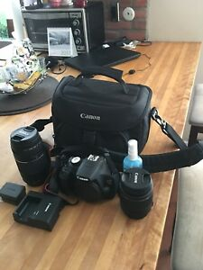 Canon EOS Rebel T5 with complete set