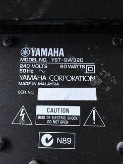 Yamaha Subwoofer YST-SW 320