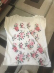 Flower shirt size small