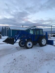 Tractor 4wd Ford 5610 72hp with loader