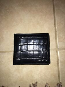 Brand New Hugo Boss Black leather wallet