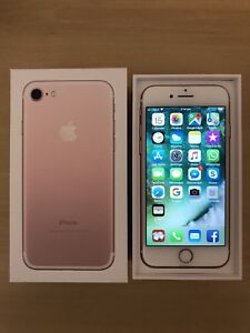 iPhone 7 32GB Rose Gold in Immaculate Condition