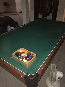 Free massive pool table pick up only