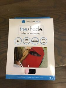 The shade - baby car bucket seat slip cover