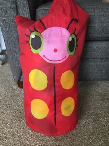 Lady bug child sleeping bag