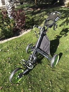 CaddyTek EZ Lite Golf Pushcart