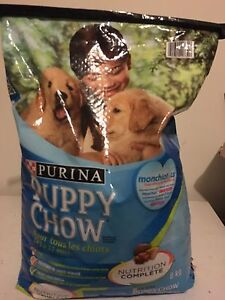 Purina Puppy Chow dog food