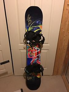 LibTech T.Rice C2-Power Snowboard 153 with bindings like new