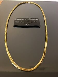 Gold Franco Chain 18 kt