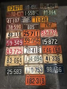 Looking for old license plates. Will pay cash