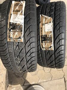 2x Pneus Goodyear Eagle GT High performance 225/50R16 NEUF
