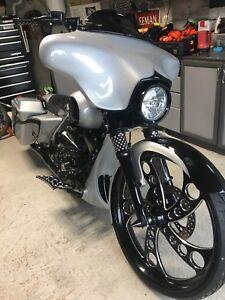"2007 Harley Davidson custom 26"" big wheel bagger"