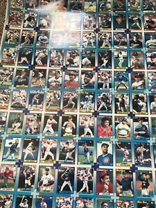 Topps uncut cards