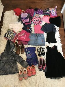Bag of Size 4 Girl Clothes