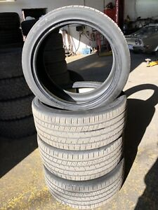 CONTINENTAL CROSS CONTACT 275/40/22 SUMMER TIRES RANGE ROVER