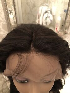 """18"""" Virgin Human hair LACE FRONT wig"""
