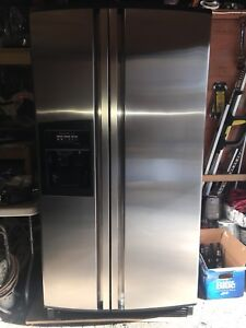 KITCHENAID STAINLESS STEEL FRENCH DOOR REFRIGERATOR FOR SALE