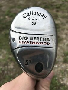Men's RH Callaway Big Bertha Heavenwood Hybrid