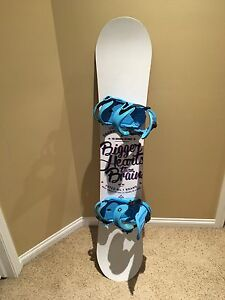 Snowboard 148cm with bindings!
