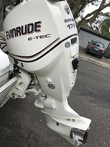 175 Etec Evinrude outboard motor Seaforth Manly Area Preview