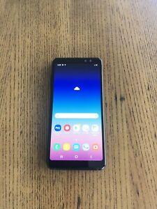 Samsung galaxy A8 (2018) 32gb black perfect condition au model