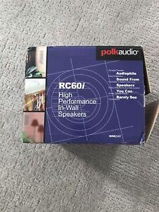 Polk RC60i in ceiling speakers