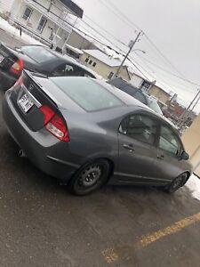Honda Civic gris 2009