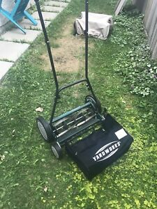 Yardworks 18 inch reel mower