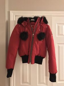 Moose Knuckles ladies bomber jacket - new - size small