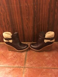 Ugg Wedge Ankle Boots