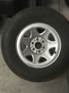 Chevy 1/2 ton rims and tires