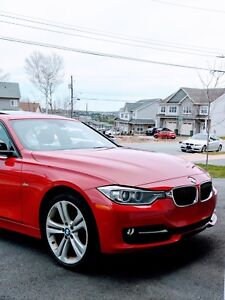 2015 BMW 328i xDrive Sport line Melbourne Red