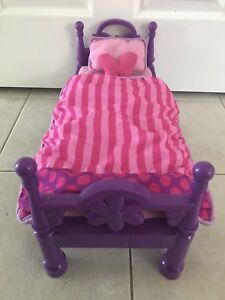 My Life Girls Doll Bed