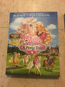 7 films de barbie en Blu-ray flambant neuf !!