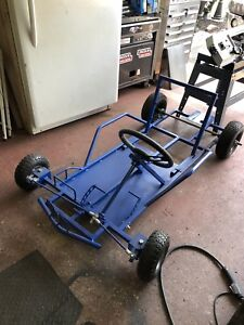 Brand New Go Cart Frame w/Wheels and Steering