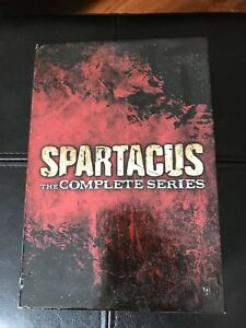 Complete series of Spartacus on DVD.