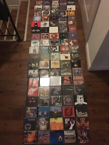 Lot of 91 CD's - Rock, Alternative, Punk, Metal, Etc.