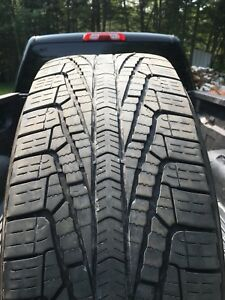 Goodyear assurance 265/65r18. 25% tread left