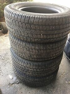 Goodyear pneus  d'ete summer tires 275 65 r18