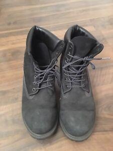 Black men's Boots Timberland look alike
