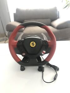 Thrustmaster Ferrari Xbox one wheel WITHOUT PEDALS