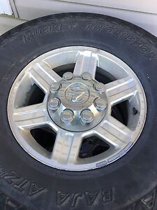 2500-3500 Dodge wheels