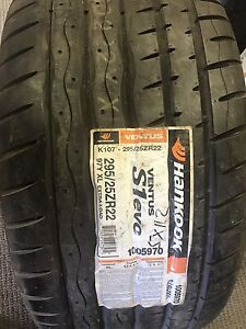 Brand New summer tires hankook 265/30r22 and 295/25r22