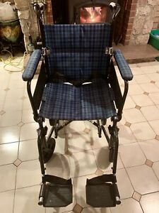 Fauteuil roulant Airgo Confort transport chair