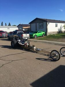 REDUCED!!!!  1996 dragster!!