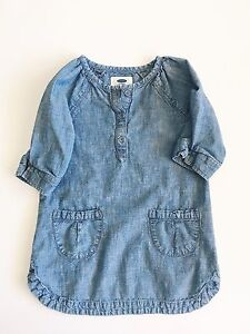 Old Navy chambray dress 3T