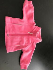 Columbia 6 Month Pink Fleece