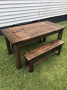 Handcrafted Rustic dining table