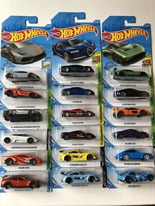 2019 Hot Wheels Exotic/Supercars Collection Set B