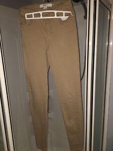 Pantalon jegging beige de la marque Vero Moda